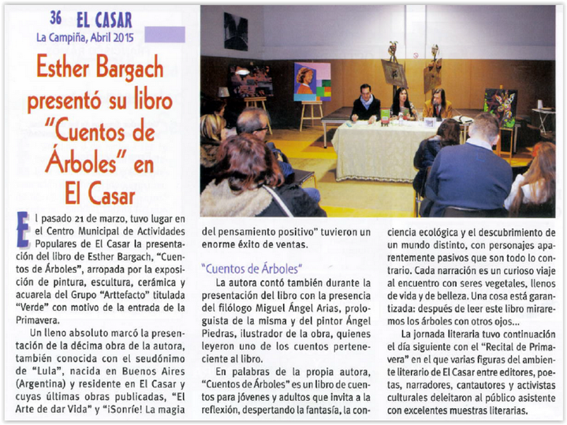 esther el casar revista la campiña abril 2015